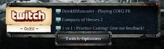 CoH2 Twitch Client