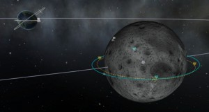 Map with focus on the Mün