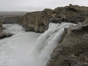One of the many waterfalls of Iceland