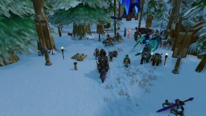 Players deliver kegs in order to obtain Brewfest Prize Tokens.