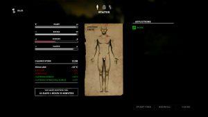 The Long Dark - Status Screen