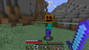 Halloween in Minecraft.